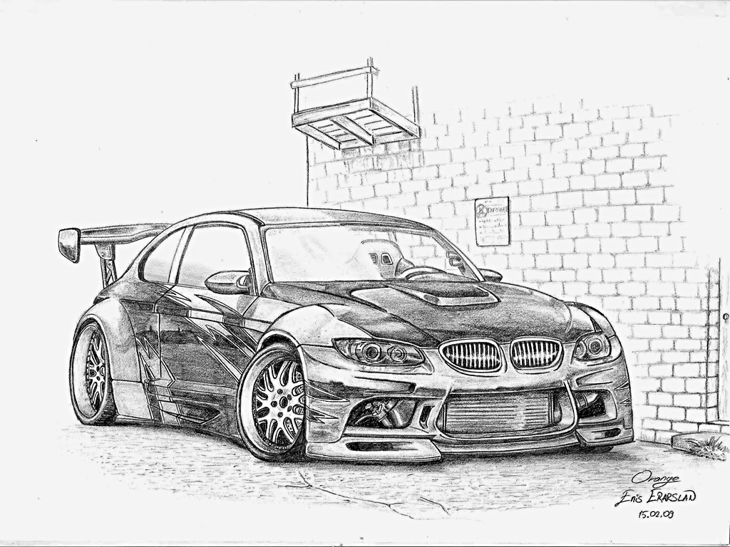 Drawn bmw tuning Pictures Car Bmw Drawn Of