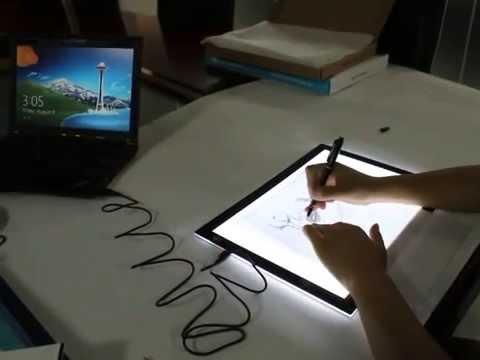 Drawn box square Huion USB Unboxing L4S use