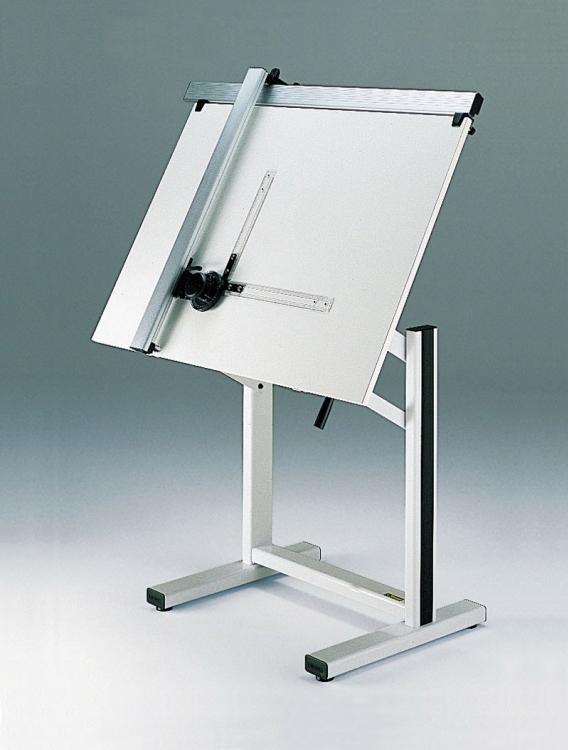 Drawn planks tecnostyl MEDIO machine type drawing track