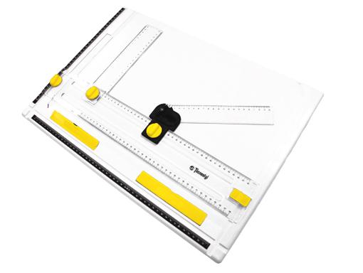 Drawn planks tecnostyl Compact Drawing Teknica Practical Board