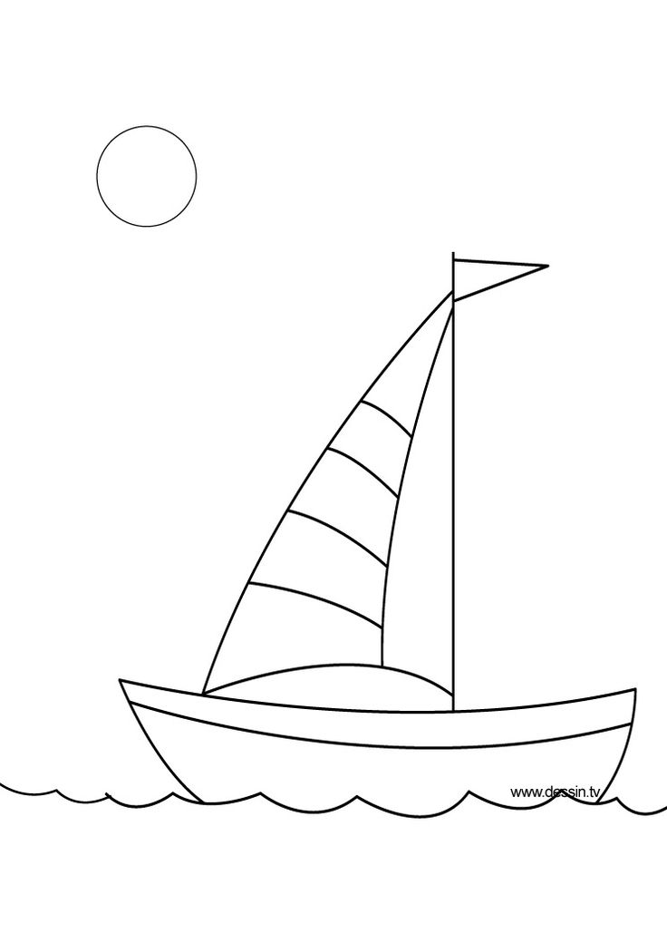 Drawn yacht cute Ideas thedrawbot drawing Pinterest Boat