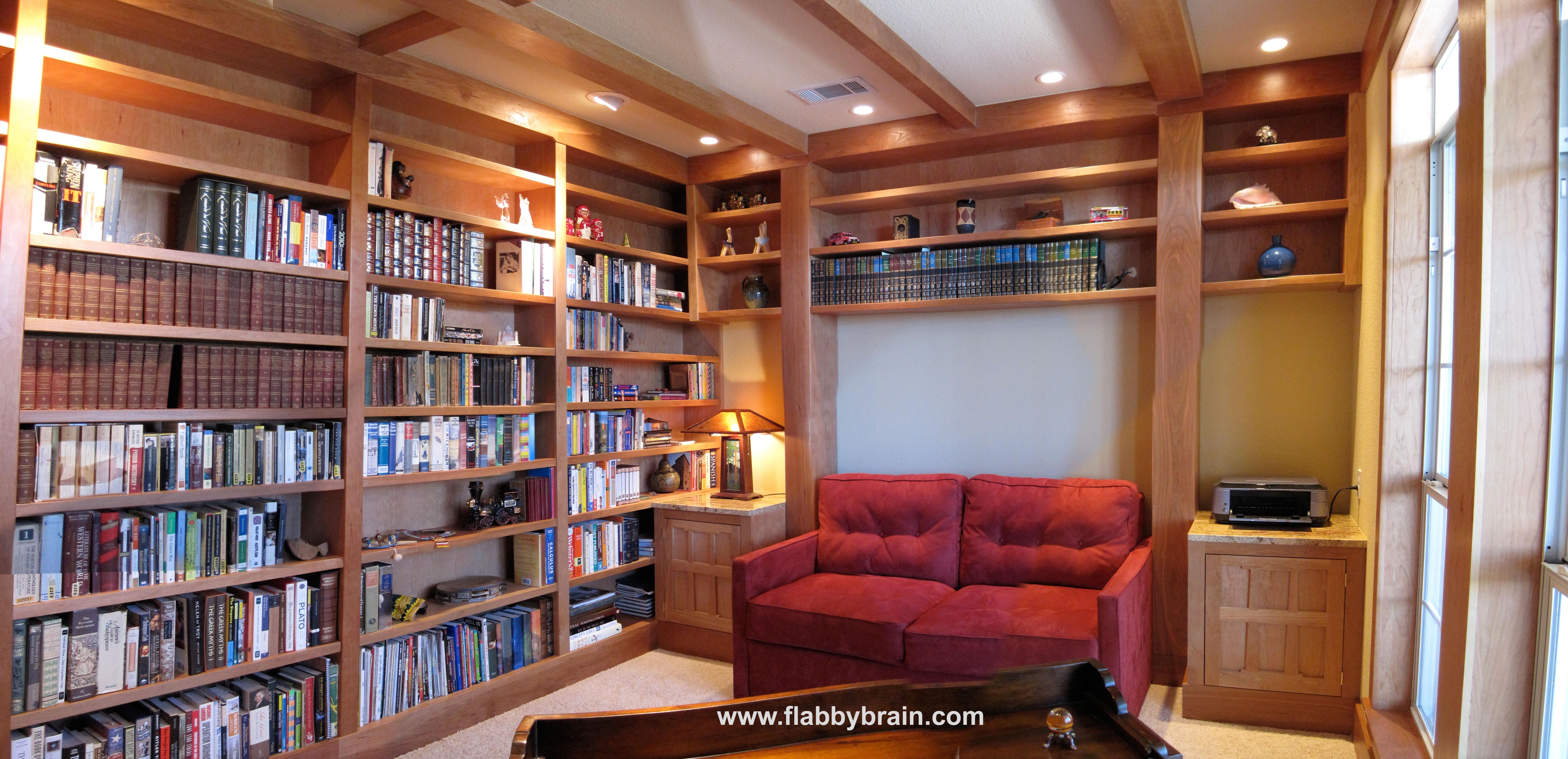 Drawn bookcase big Drawn: – Big the Flabby