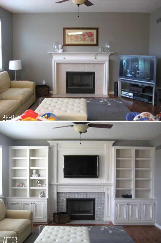 Drawn bookcase big A on larger Living look