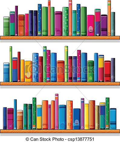 Drawn bookcase book clipart Reading 090 clipart shelf Clipart