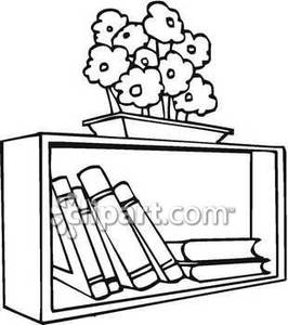 Drawn bookcase book clipart Bookshelf Clipart shelf%20of%20books%20clip%20art Free Images