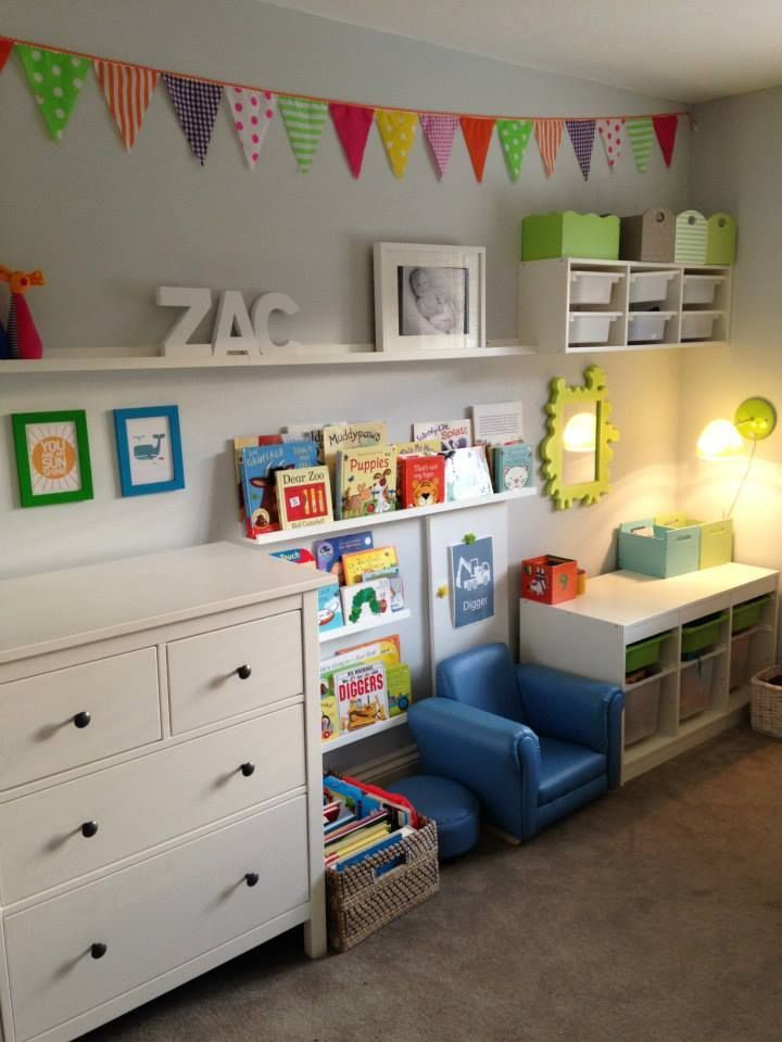 Drawn bookcase childrens On Top Bed Ikea Pinterest