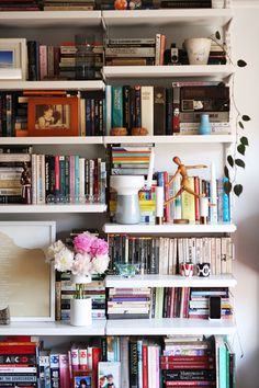 Drawn bookcase giant Real example inspiration bookshelves