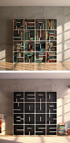 Drawn bookcase huge Cool Shelving DIY READYOURBOOKCASE Pinterest