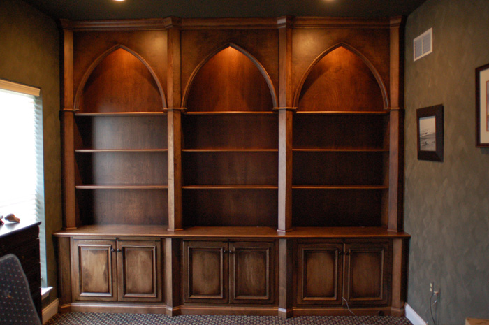 Drawn bookcase medieval Gothic and Pin needs but