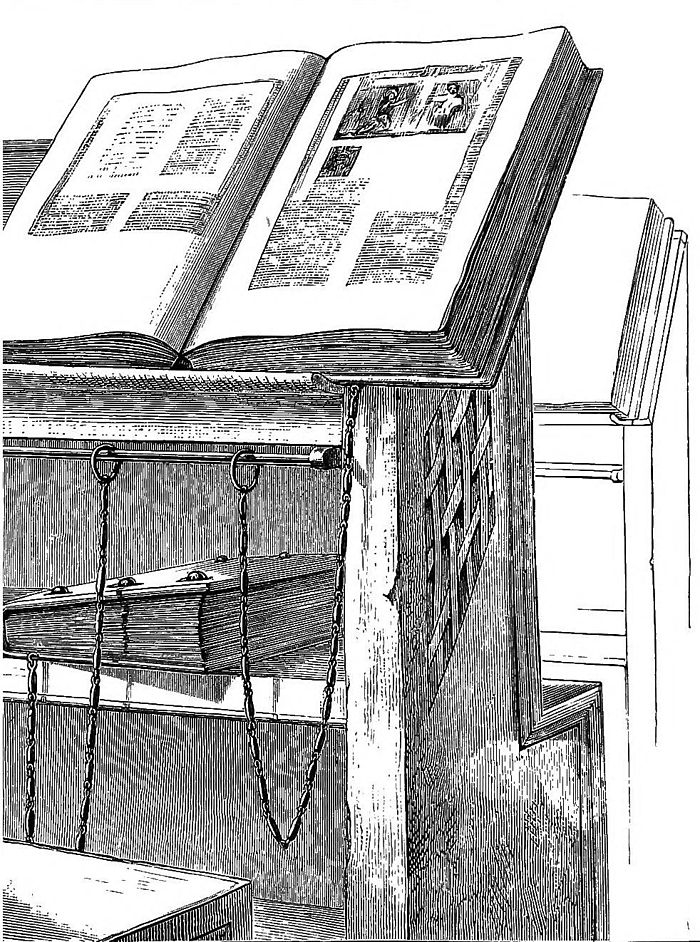 Drawn bookcase medieval 7 Medieval the in Libraries
