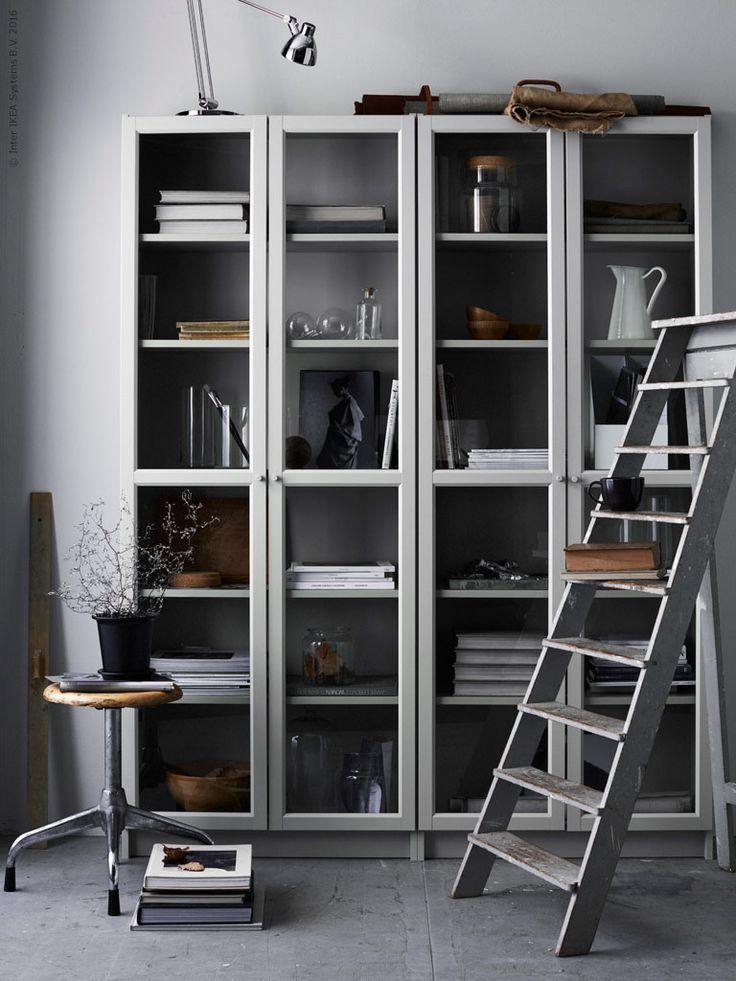 Drawn bookcase organized  images IKEA 270 Pinterest