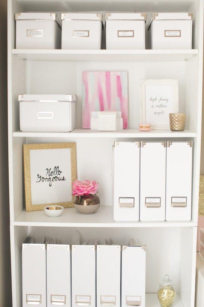 Drawn bookcase organized Best storage Pinterest OFFICE OrganizationBookshelf