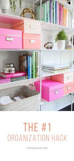 Drawn bookcase organized  Makeover Office My storage