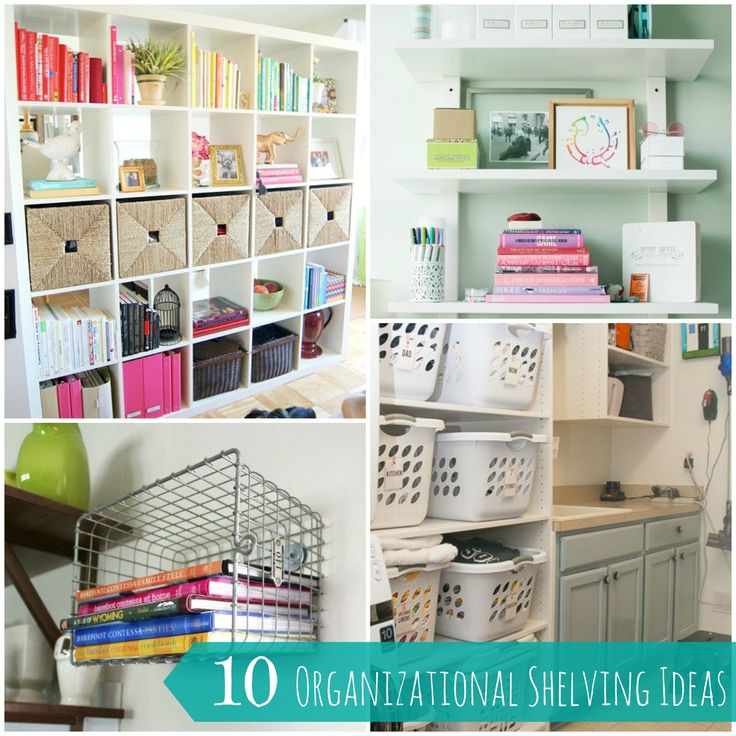 Drawn bookcase organized On on shelves Pin images