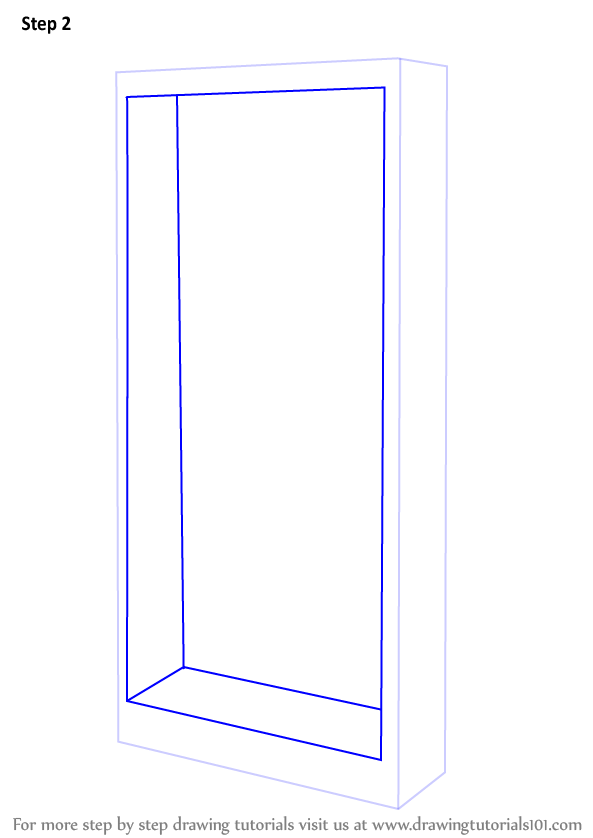 Drawn bookcase simple Shelf Draw : a Draw