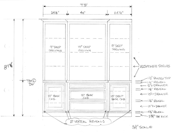 Drawn bookcase simple Drawing in images bookcase Casework/Millwork