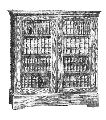 Drawn bookcase sketch Eclectic Bookcase Cycle of Check