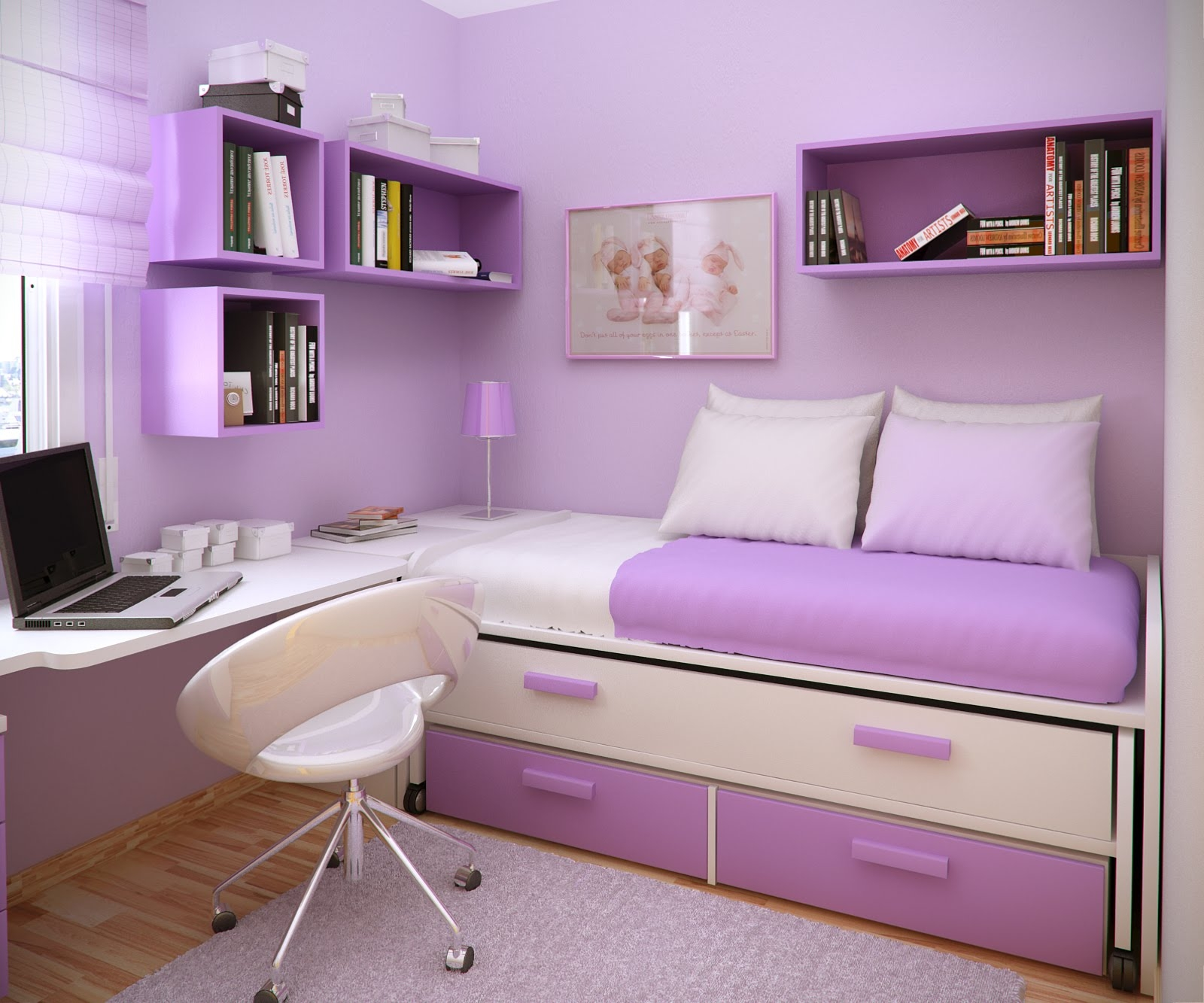 Drawn bookcase teenage  Girl Color Ideas Paint