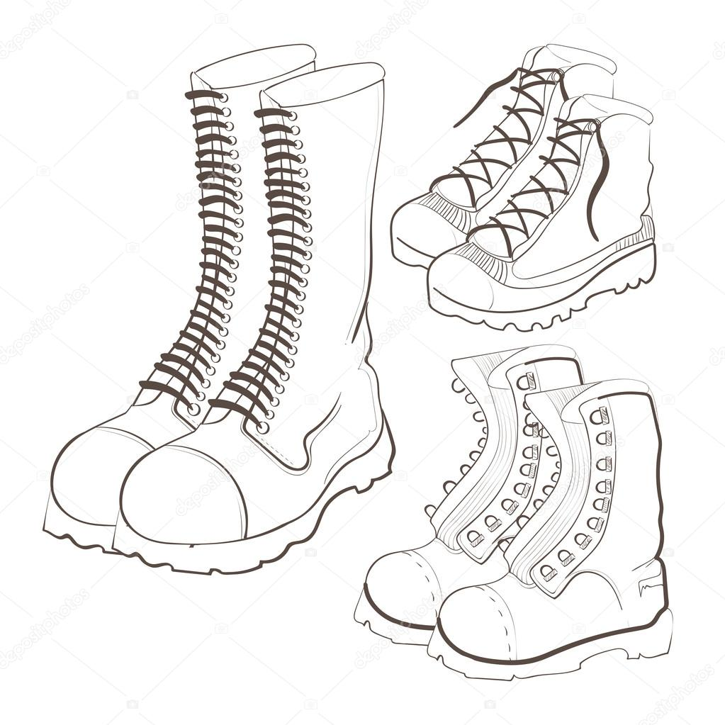Drawn boots — Stock #72683235 Hand ©