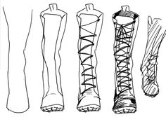 Drawn boots Draw combat step Google step