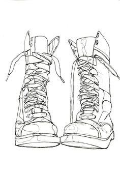 Drawn boots Marten Template Image for Spec