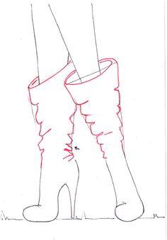 Drawn boots anime guy Fashion tutorial fashion Drawing boots