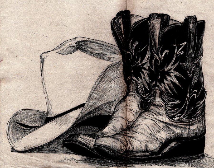 Drawn boots cowboy By boots ideas ~PocketDreams Cowboy