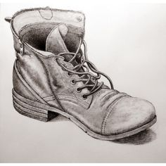 Drawn boots old Photo out an boot