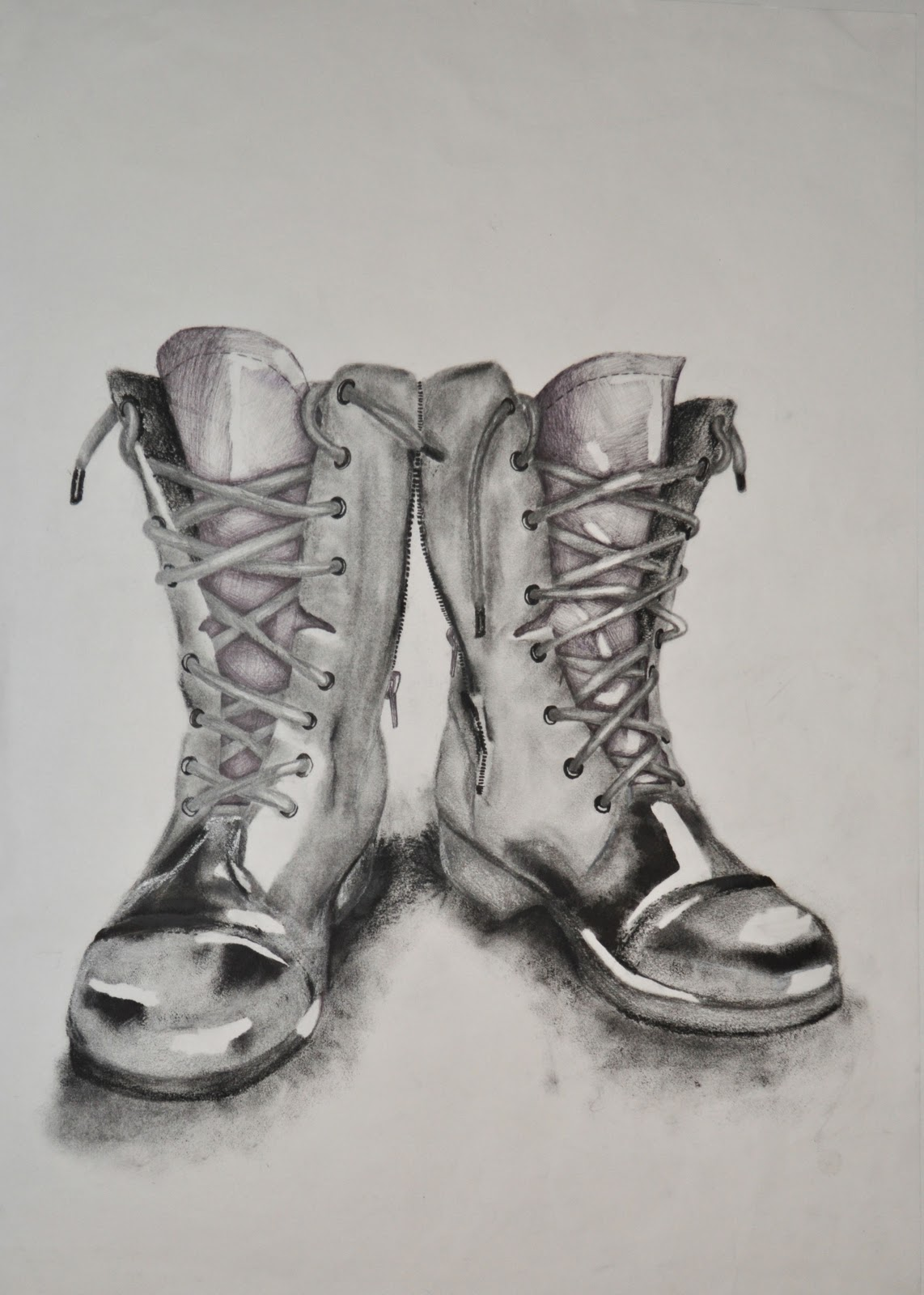 Drawn boots old Con pencil/ drawing Pinterest