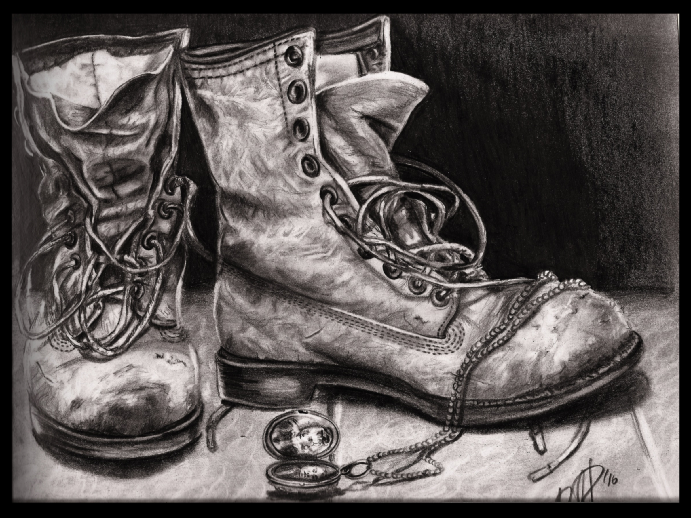 Drawn boots old 20  worn more Cool
