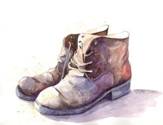 Drawn boots old 35 boots Search photo old