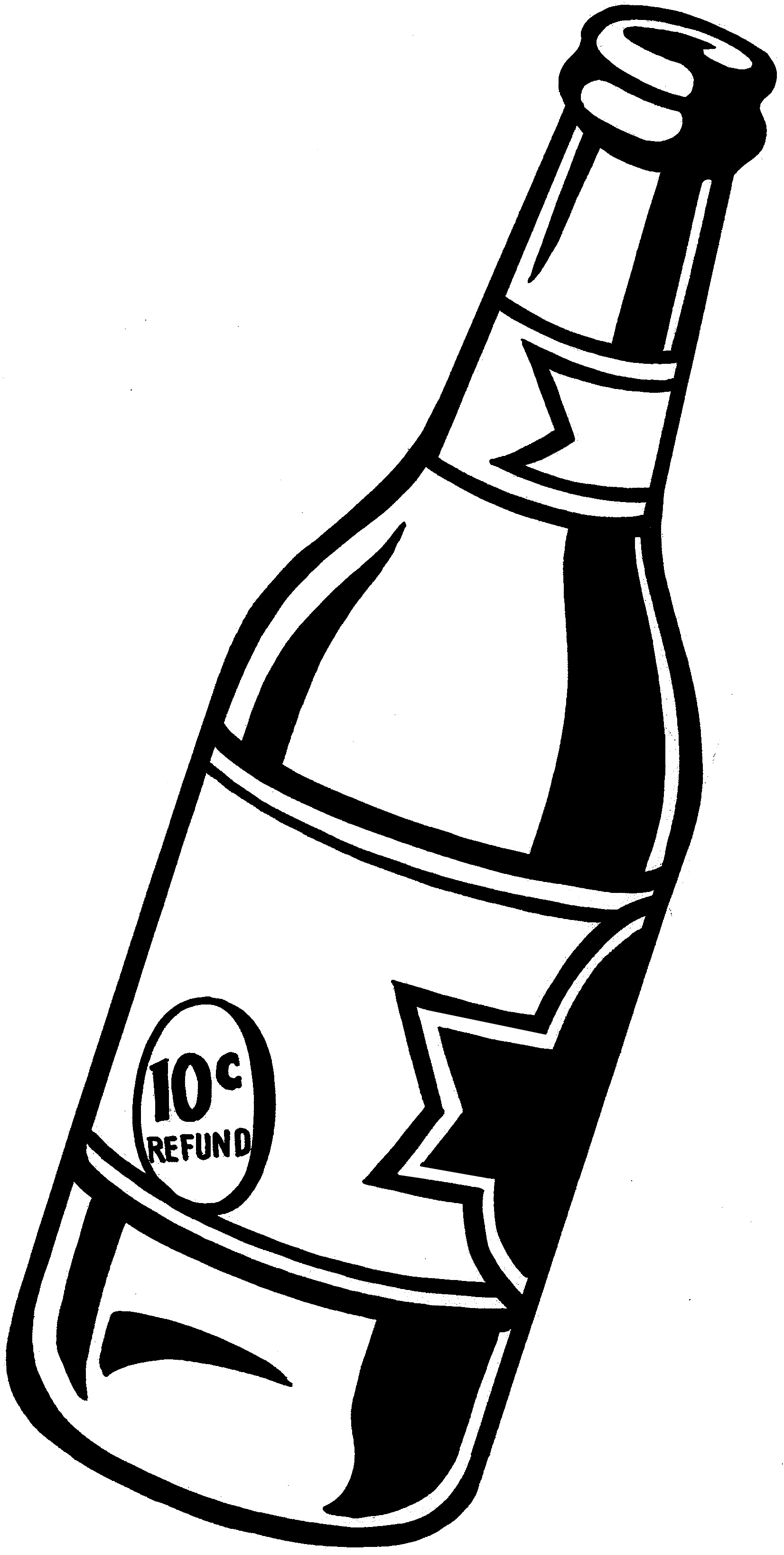 Drawn beer Bottle and Beer Beer Cliparts