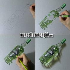 Drawn bottle Stages  Oddka four timelapse: