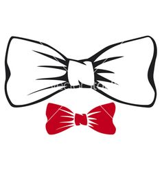 Drawn bow tie Vector bow : Everything Soccer