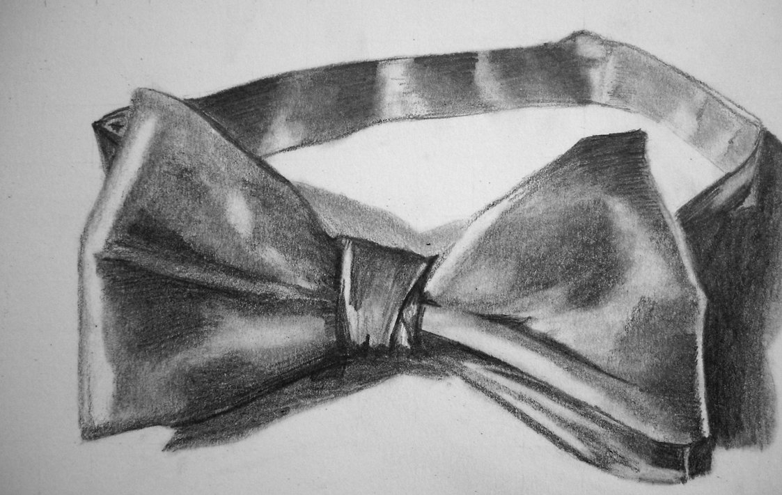 Drawn bow tie sketched #4
