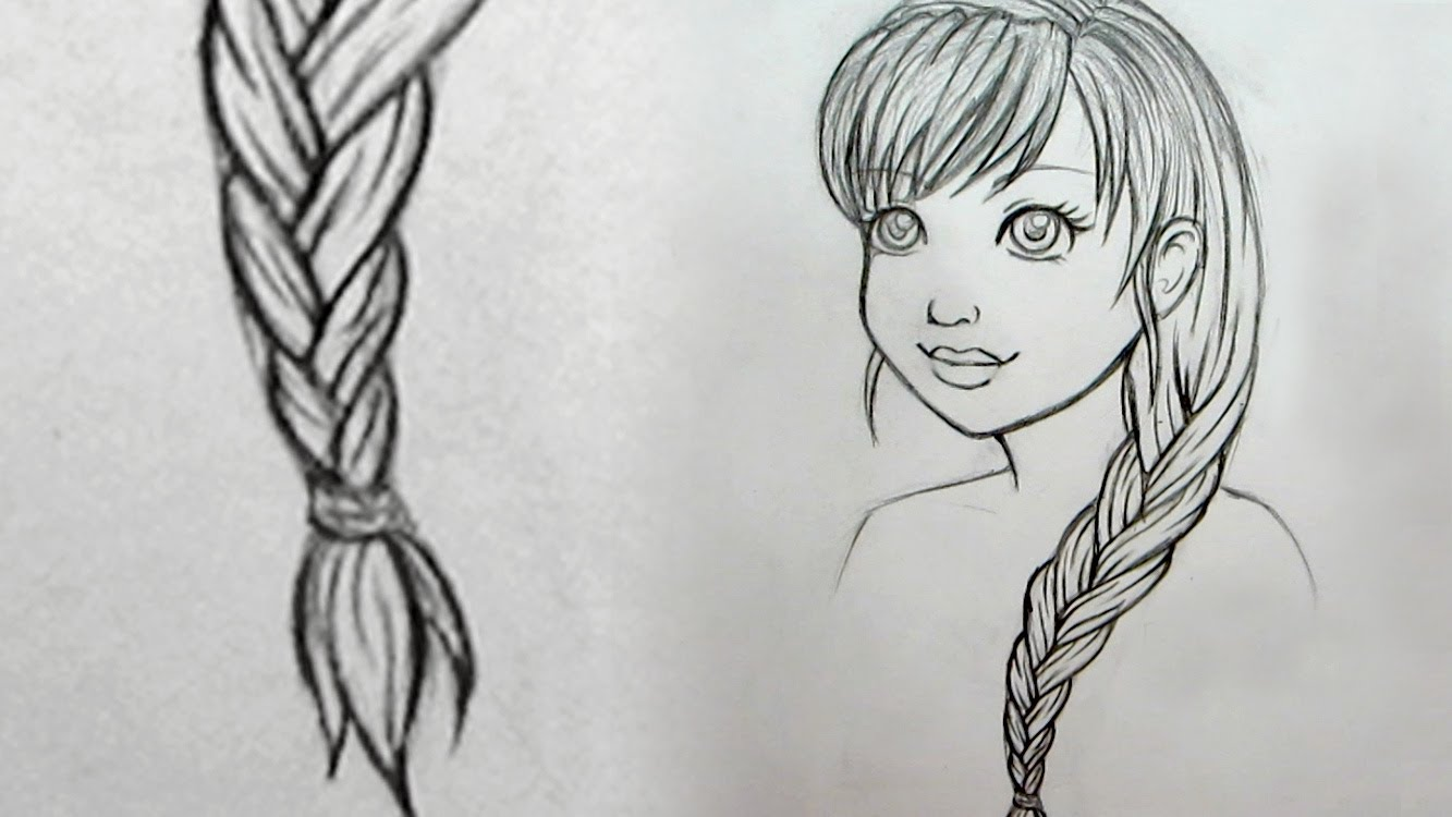 Drawn braid YouTube  to How Draw