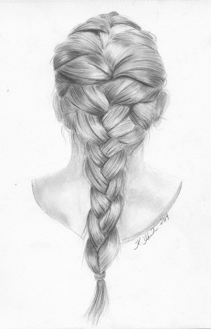 Drawn braid 20+ drawing French ideas by