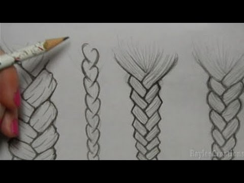Drawn braid Braids  to How Draw