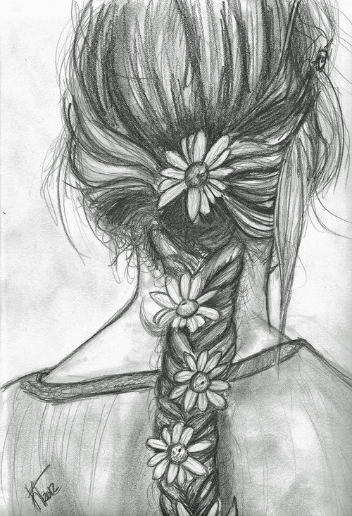 Drawn braid a day to remember  peaceful flower braid playing