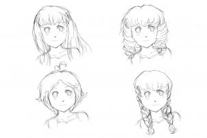 Drawn braid anime Step Girls Anime  Step