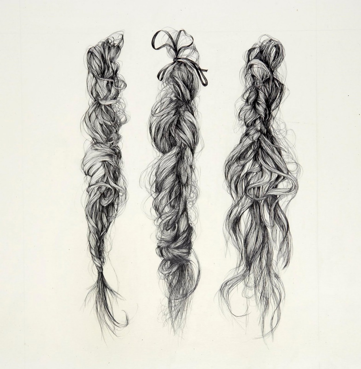 Drawn braid anime Graphite  your Rapunzel hair