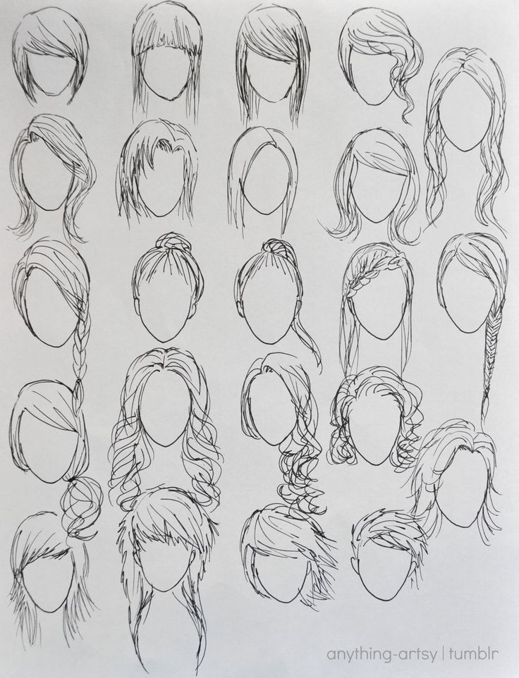 Drawn braid beginner hair To how to characters draw