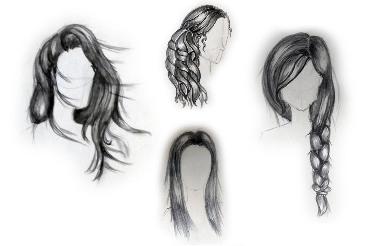 Drawn braid beginner hair  How female to draw