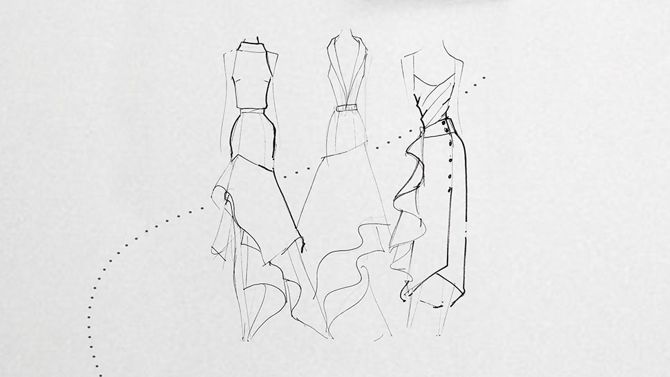 Drawn braid binibining Gown Bumgarner Observations  Mark