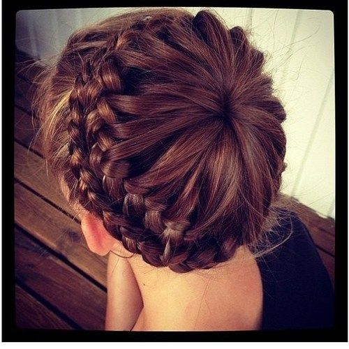 Drawn braid binibining Blush Pinterest lovelyish  via