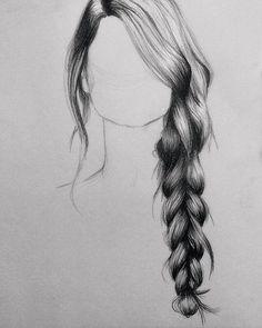 Drawn braid braid hairstyle On Drawings Drawing Drawings Tutorials