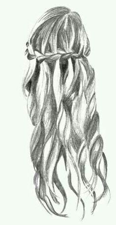 Drawn braid braided hair Hair  Drawings Include: Tumblr