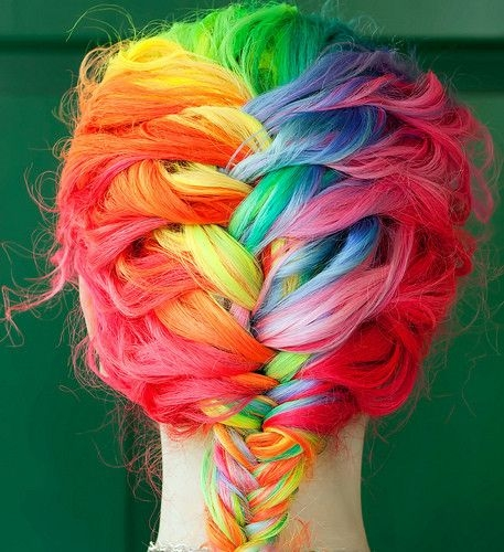 Drawn braid colorful This And Colored Is There