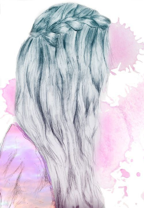 Drawn braid colorful Tumblr images best Search Google