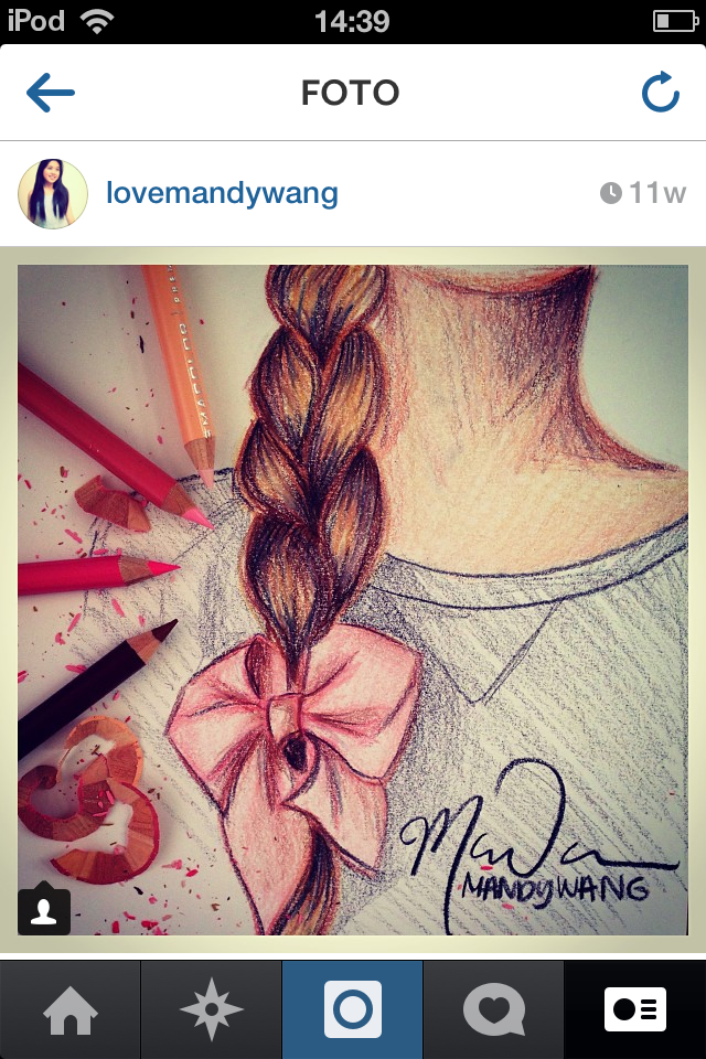 Drawn braid hair colour Hair Drawings Drawing hair braid